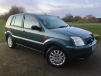Ford Fusion 1.4L 5Dr In Mint Condition! FULL FORD SERVICE HISTORY/1 Year MOT/HPI CLEAR