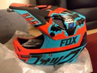 Fox rampage pro carbon full face MTB helmet bnwt