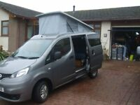 NV200 Elevating roof campervan
