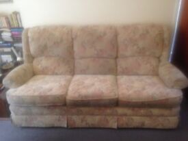 Sofa and armchair in good condition