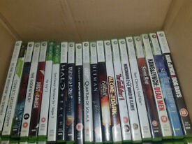XBOX 360 Games,80 in total