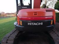 Mini digger 2.5 to 7.5 ton hitachi volvo cat komatsu any brand concidered