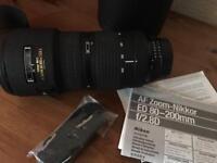 Nikon 80-200 2.8D ED AF
