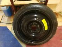 Vauxhall 16 spacer wheel