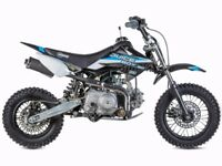 Brand New Stomp,Ten 10,Demon X pit bikes in stock from £599 from 90cc to 160cc pit bike pitbike mx