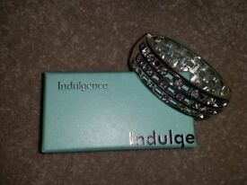 Indugence Silver Bracelet