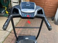 BTM W501 Electric Folding Treadmill with Heart Rate & Pulse Sensors + USB & Speakers