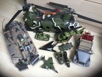 Huge set of army toys