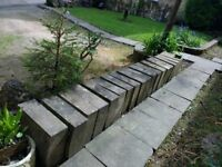 Cotswold stone Coping stones