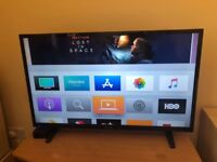 40 Inch Full HD, LED TV, Sharp Aquos, new condition