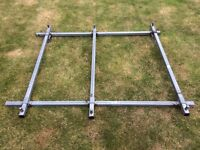 Fiat Doblo (2000-2009) Saunders 3 Bar Heavy Duty Roof Rack - Used, Good Condition.