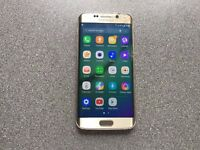 SAMSUNG GALAXY S6 EDGE - 32GB - FACTORY UNLOCKED TO ALL NETWORKS - CRACKED SCREEN