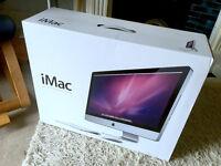 "Apple iMac 27"" 2.7ghz intel core i5 UPGRADED 24gb RAM, 525gb SSD, in box"
