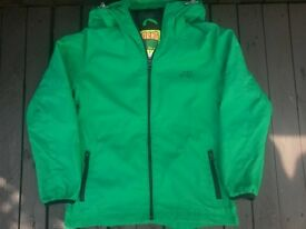 Next Sporty Anorak, Green, Age 10 Years