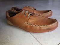 Mens BASE Tan Shoes Size 11 (45)