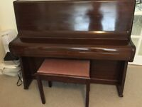 UPRIGHT BERRY (LONDON) PIANO for sale. Excellent condition.