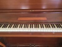 W H Barnes Upright Piano