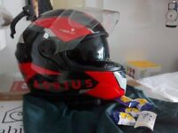 Full face helmet as new XL