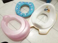 Toilet seat for kids in good condition.
