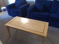 Julian Bowen Wooden Coffee Table in good condition.