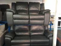NEW / EX DISPLAY Leather LazyBoy Finchley 3 + 3 + 2 Electric Recliner Sofas
