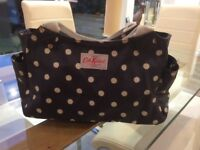 Cath kidston blue polka dot tote bag- excellent condition
