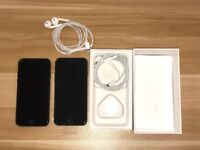 x2 iPhone 7 - Both 256 GB - 1 is Brand new and 1 is Mint Condition