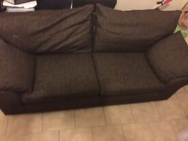 2 wide seater sofa