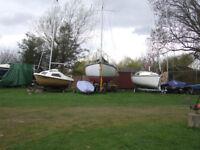 Macwester 26 sailing boat