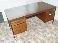 Five drawer desk.