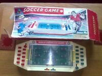 vintage table soccer game boxed
