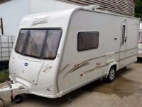 SUPERB 2006 Bailey Senator Vermont 2 Berth End Washroom Caravan with Powrtouch MOTOR MOVER