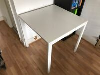 IKEA Table and two (2) chairs MELLTORP ADDE £28 ono