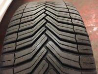 2 x 215/45-17 Michelin tyres