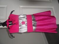 girls super hero dress up outfit.