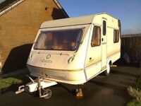 5 berth caravan with Awning and lots of accessories.