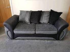Dfs 2x 3 seater sofas