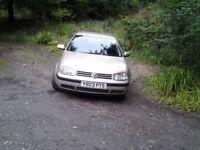 VW GOLF 1.9 TDI 2001.