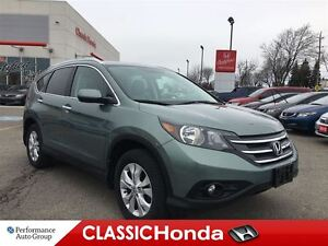 2013 Honda CR-V TOURING | NAVI | LEATHER | SUNROOF | CLEAN CARPR
