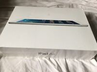 iPad Air Wi-Fi, Cellular, 16GB, Silver, Locked to EE - BRAND NEW - must be sold this weekend!