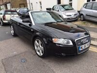 AUDI A4 1.8 TURBO S LINE AUTOMATIC 2007 (56) CONVERTIBLE FULL HISTORY LONG MOT CLEAN CAR 9 STAMPS