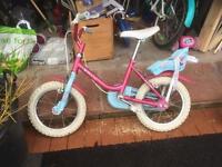Girls bike raleigh