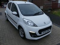 Peugeot 107 Allure - White - 5Dr - Low Mileage & £0 Road Tax