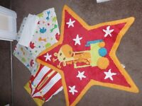 Mothercare Little Circus bedding
