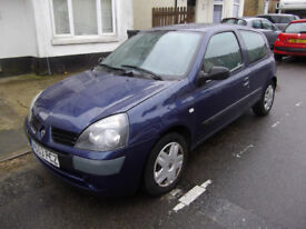 RENAULT CLIO 1.2 EXPRESSION 2004 NEW MOT