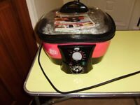 8-in-1 Cooker by JML, Go Chef, complete with instructions and attachments