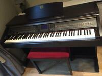 Yamaha Clavinova CVP 401 rosewood (reasonable offers considered)