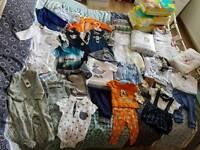 0-3 months baby boy bundle