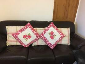 Selection of large cushions