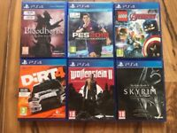 playstation 4 (ps4) games , £15 each , as new ! Price stands , no offers !